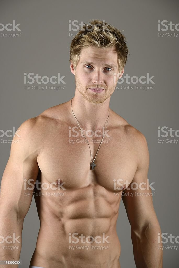 Abdominal Muscle stock photo