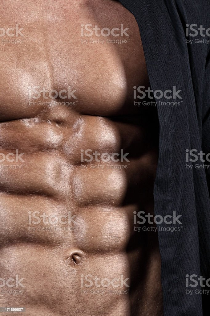 Abdominal perfection royalty-free stock photo