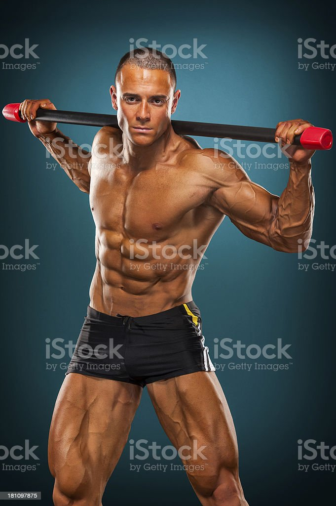 Abdominal Twists royalty-free stock photo