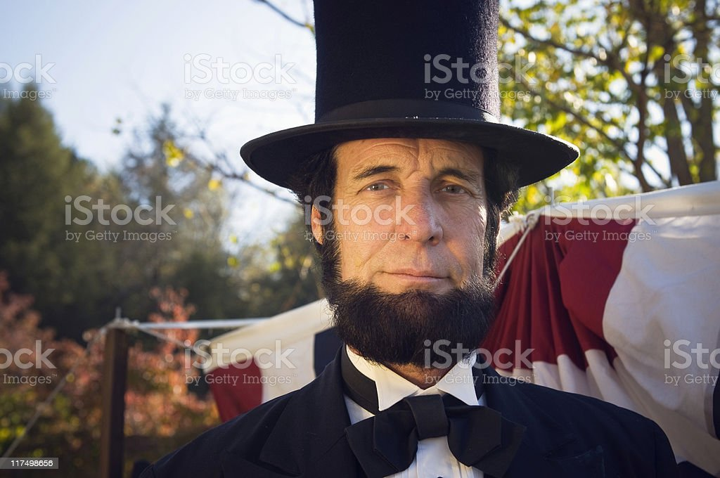 Abe Lincoln royalty-free stock photo