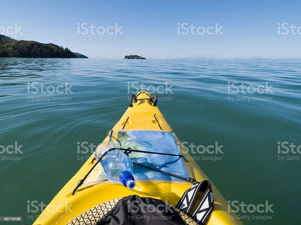 Abel Tasman Kayaking royalty-free stock photo