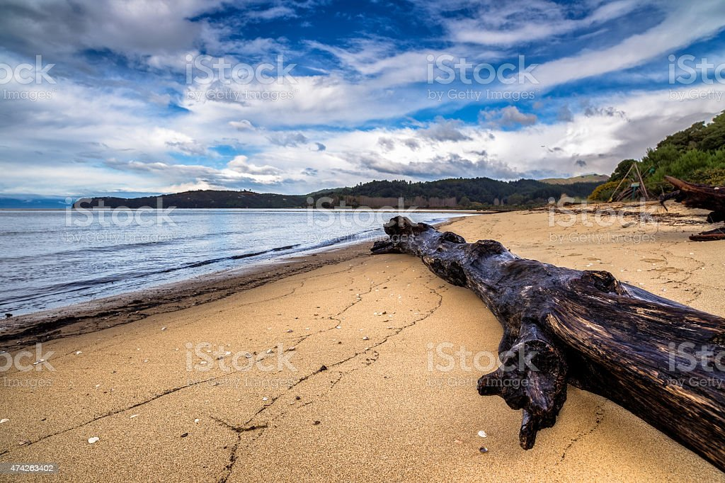 Abel Tasman National Park - Beach stock photo