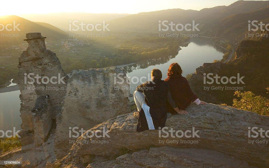 Abendsonne im Herbst royalty-free stock photo