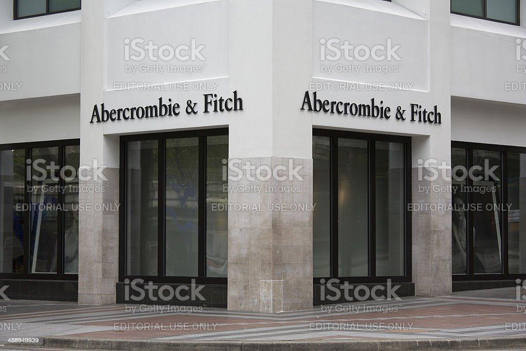 Abercrombie & Fitch clothing retailer, downtown Seattle Washington stock photo