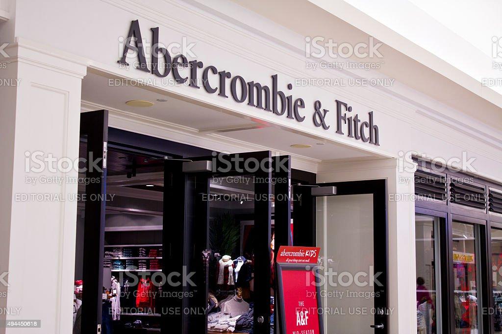 Indianapolis-octobre 2015: & vêtements Abercrombie Fitch photo libre de droits