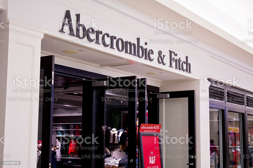 Indianapolis - October 2015: Abercrombie & Fitch Clothing stock photo