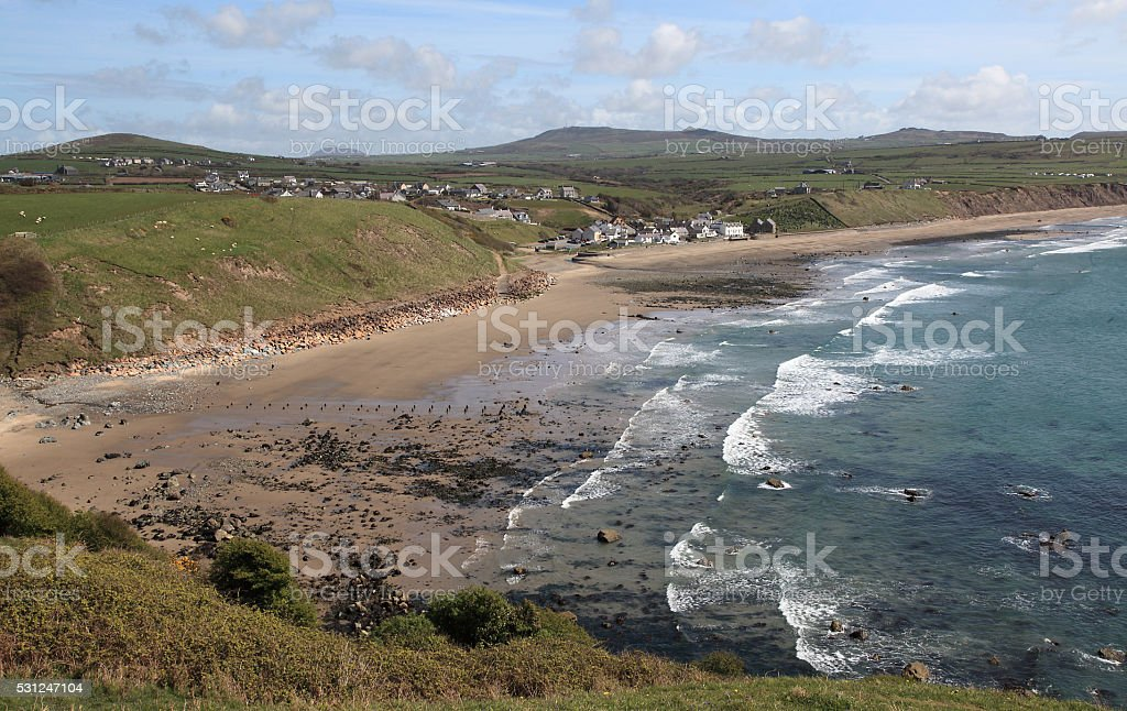 Aberdaron stock photo