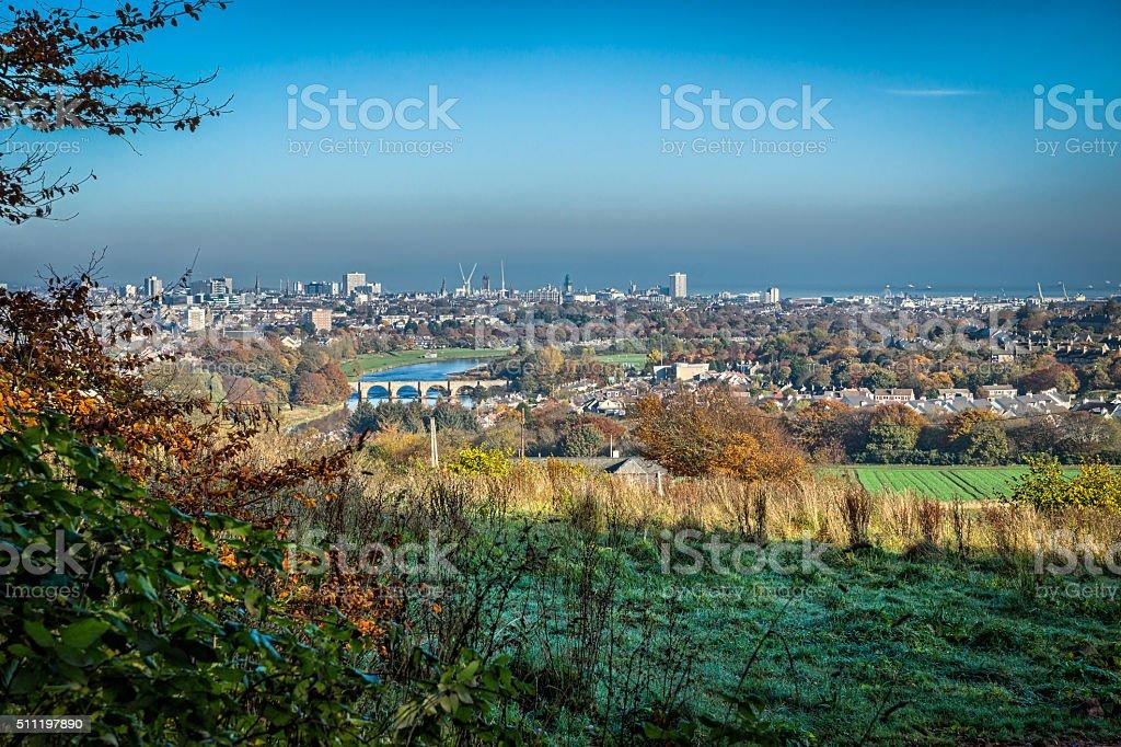 Aberdeen City stock photo