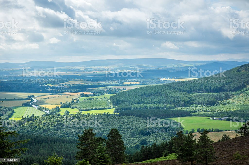 Aberdeenshire stock photo
