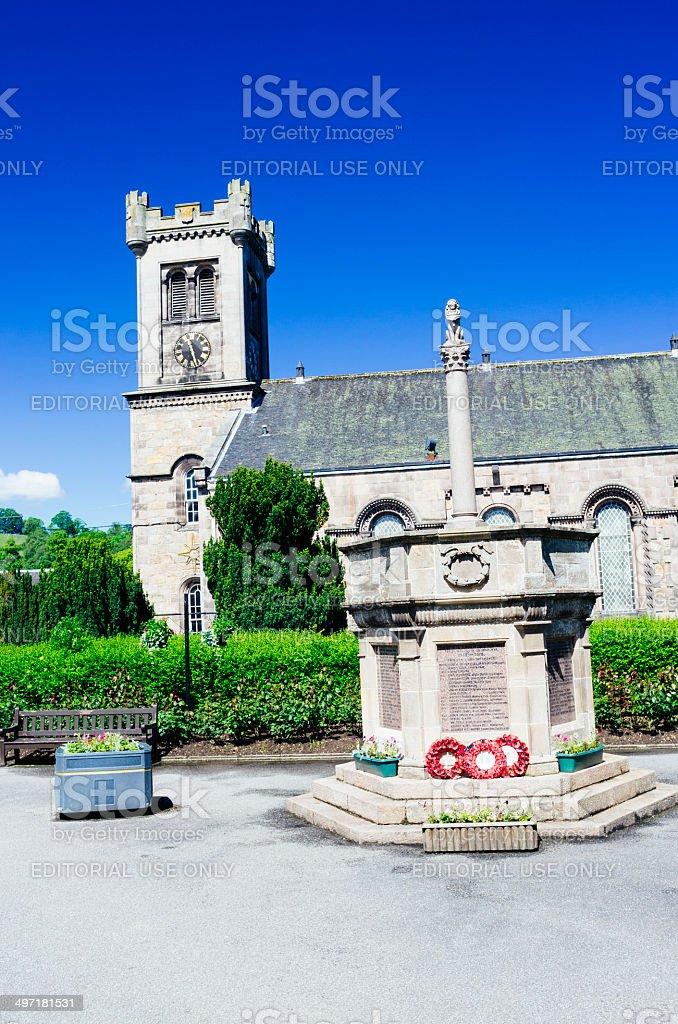 Aberlour, Scotland. stock photo