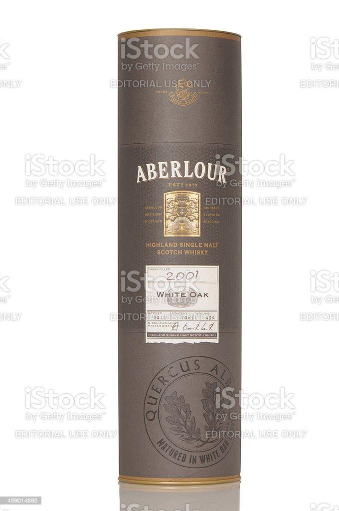 Aberlour White Oak 2001 stock photo