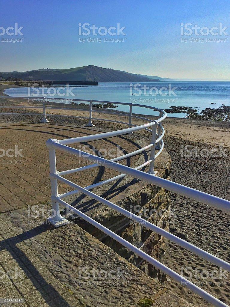 aberystwyth stock photo