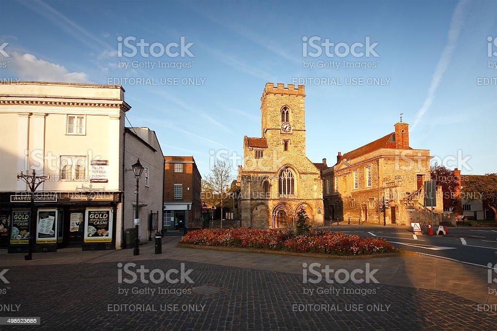 Abingdon near Oxford, UK stock photo