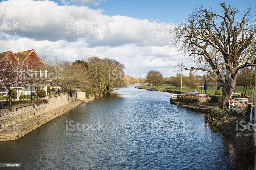 Abingdon, Oxfordshire. stock photo