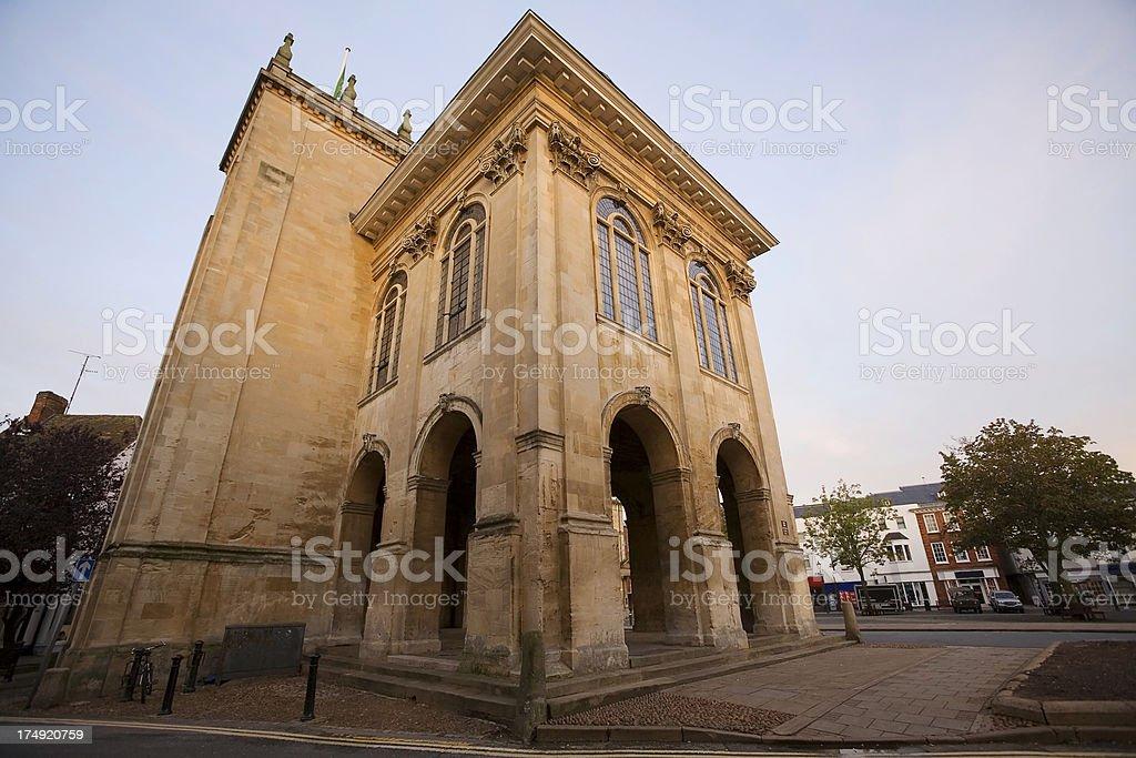 Abingdon Town Centre stock photo