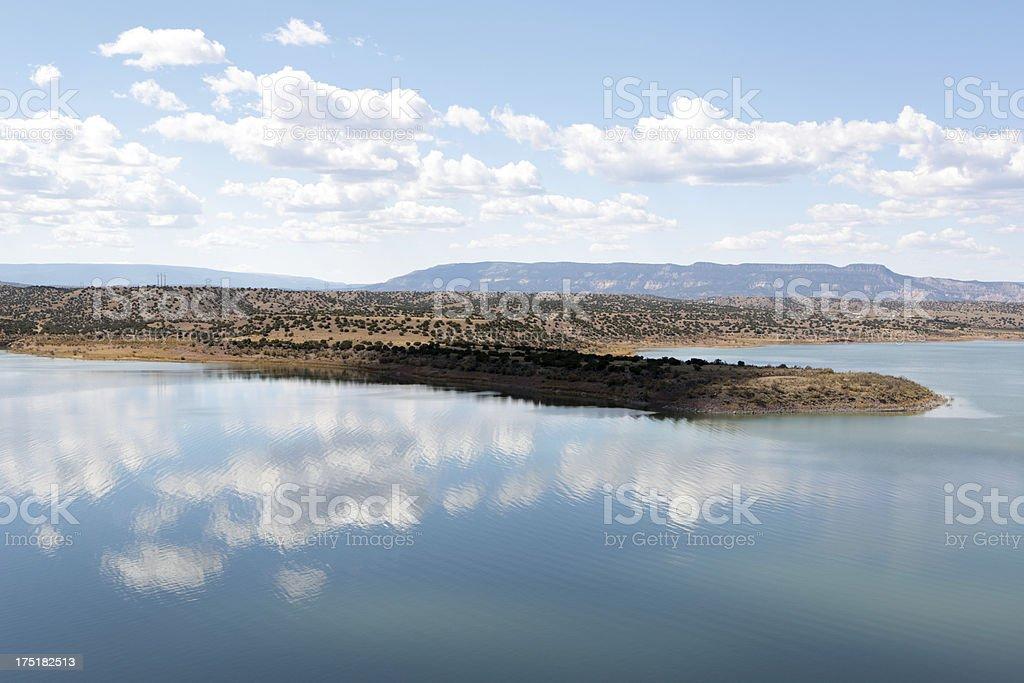 Abiquiu Lake stock photo