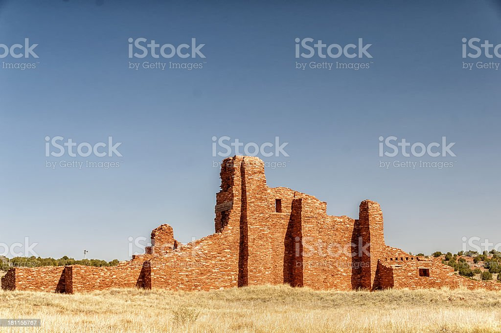 Abo Mission, New Mexico stock photo