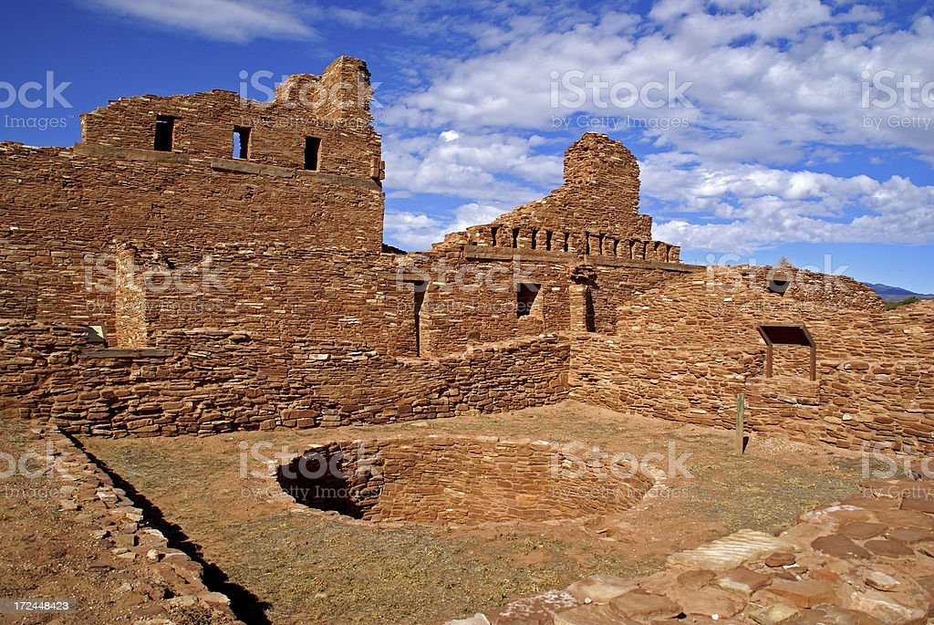 Abo Mission Ruins stock photo