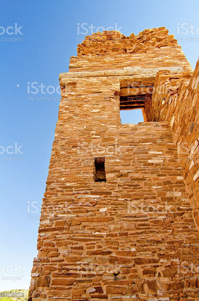 Abo Pueblo Ruins in New Mexico royalty-free stock photo