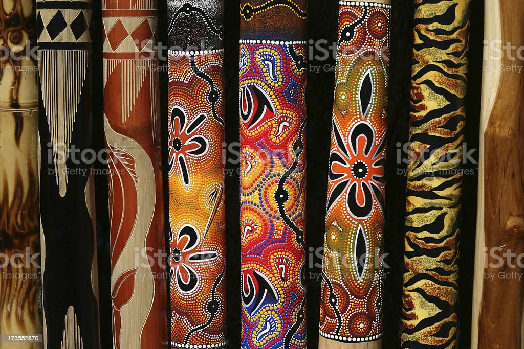 Aboriginal Design stock photo