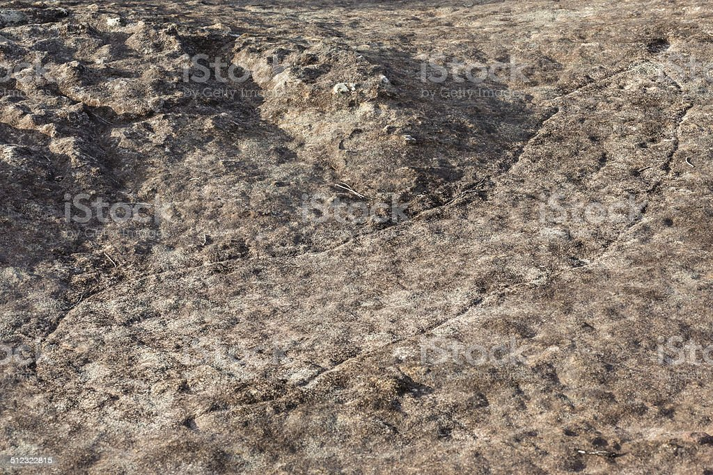 Aboriginal Stone Carving stock photo