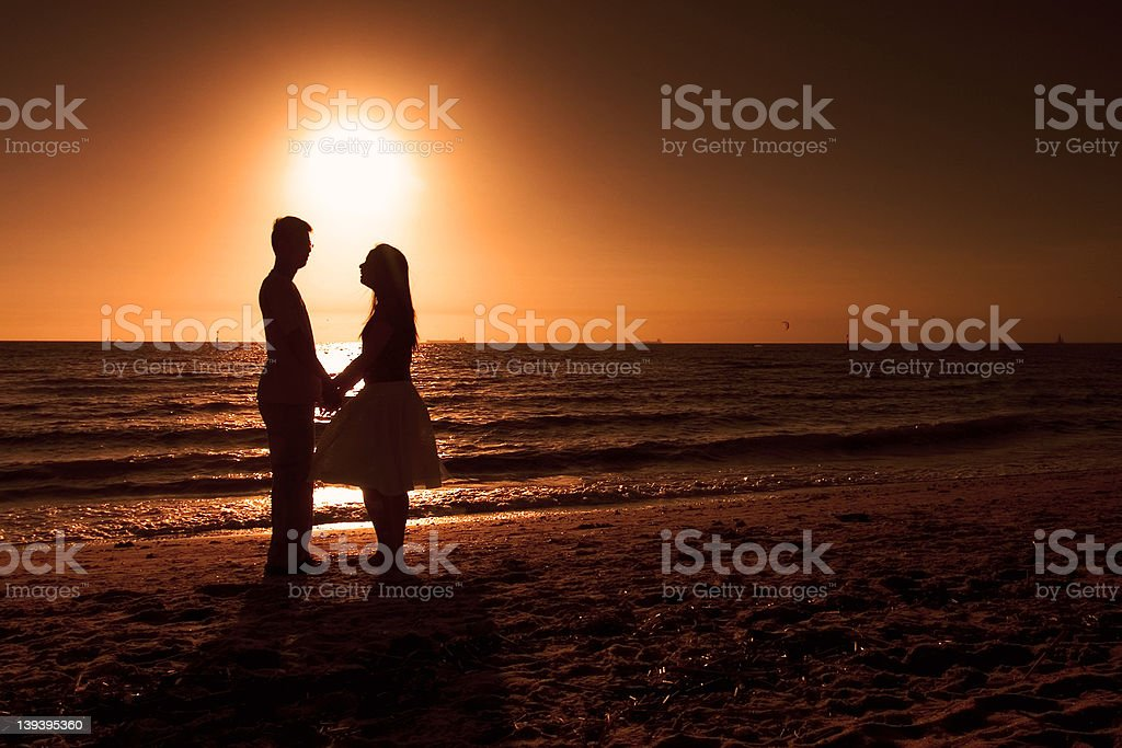 About Beach Lover royalty-free stock photo