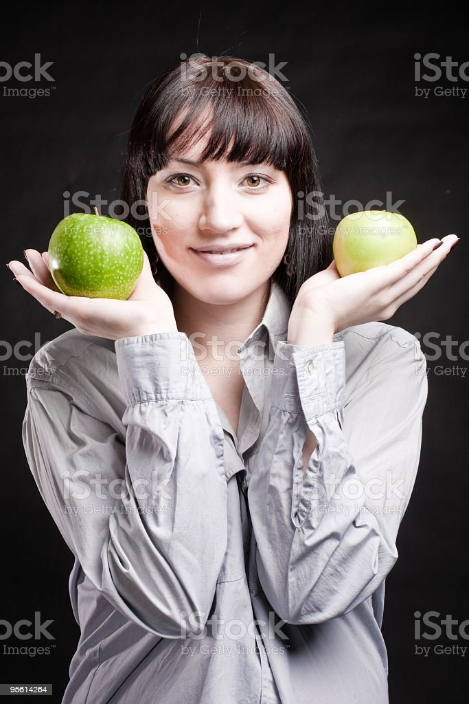 about healthy nutrition royalty-free stock photo