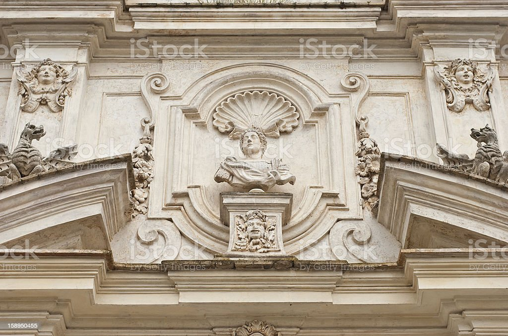 About Rome: Goethe's Rotonda in Villa Borghese Gardens, Italy royalty-free stock photo