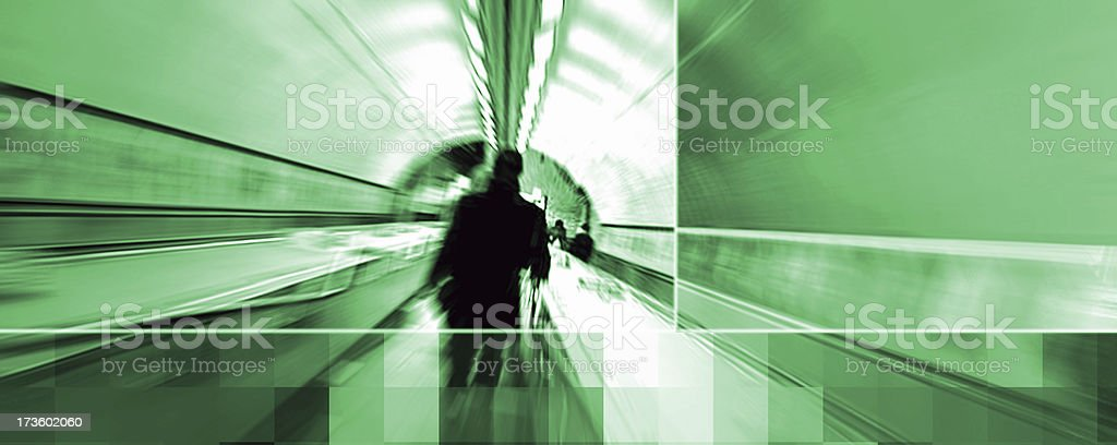 about to get the underground royalty-free stock photo