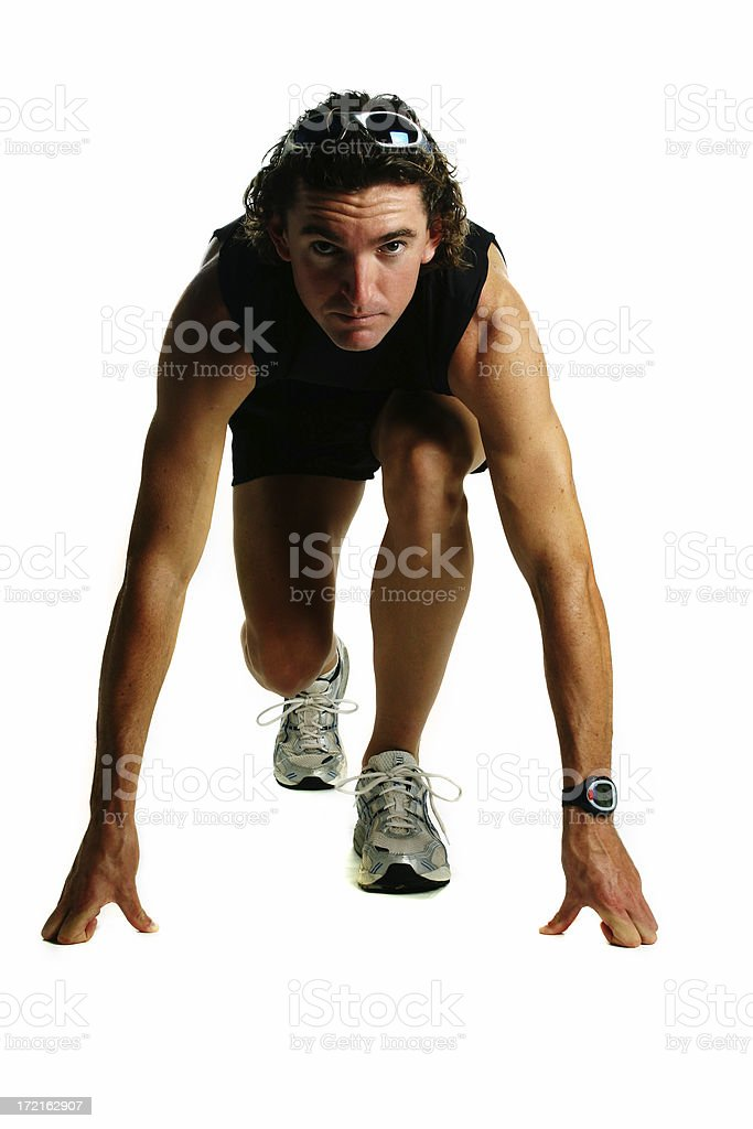About to race royalty-free stock photo