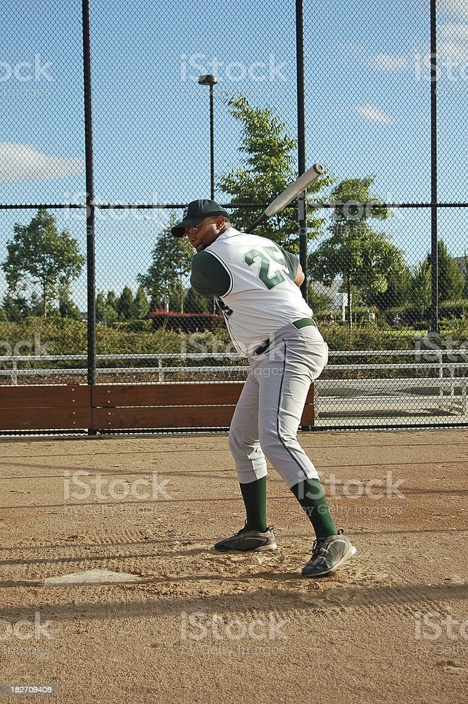 About To Swing royalty-free stock photo