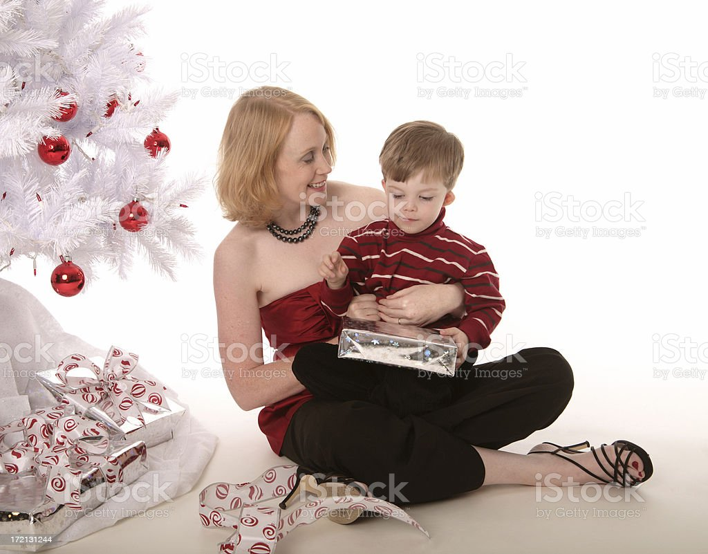 About to unwrap. royalty-free stock photo