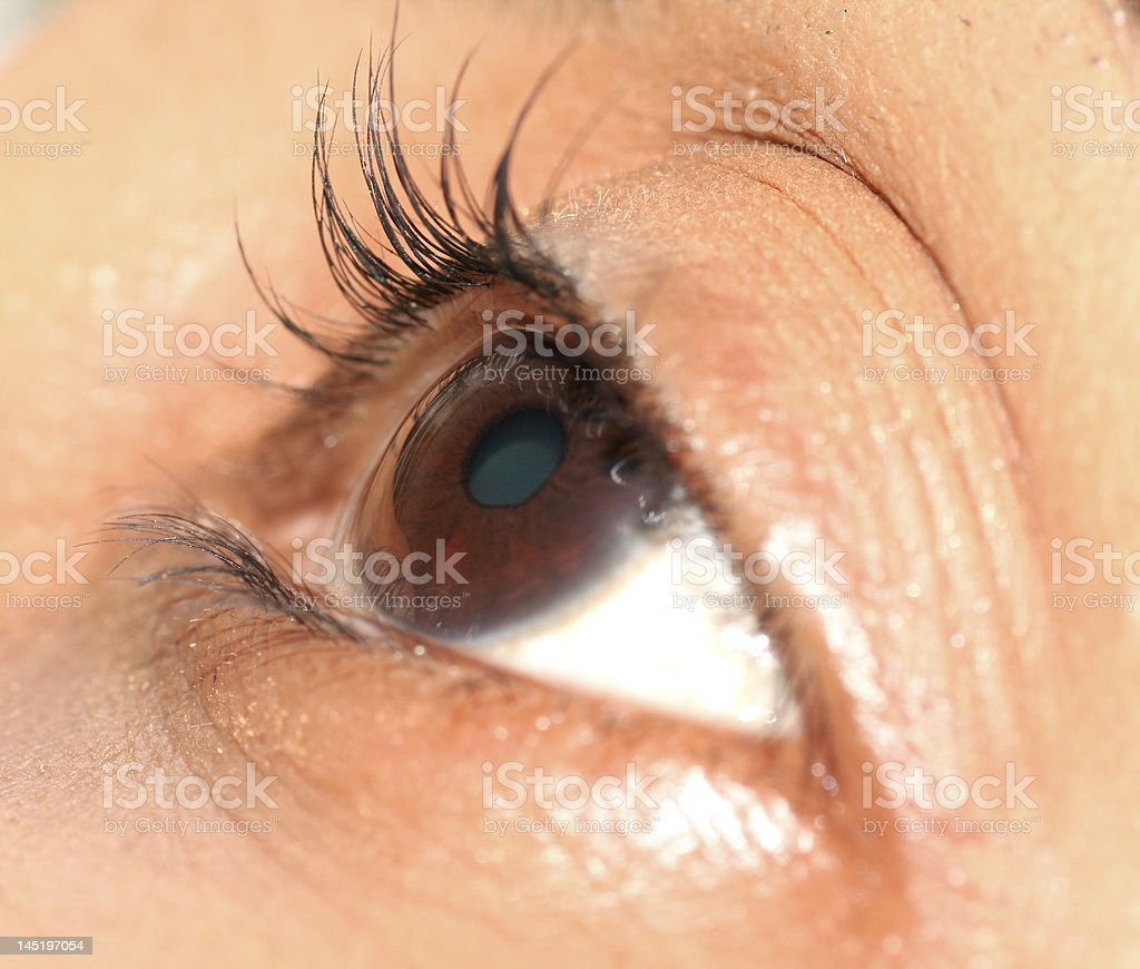 AboutEyes royalty-free stock photo