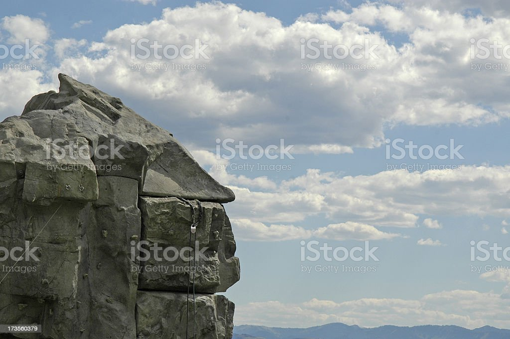 above it all royalty-free stock photo