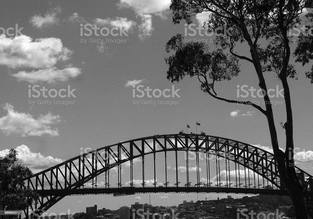 Above the city royalty-free stock photo