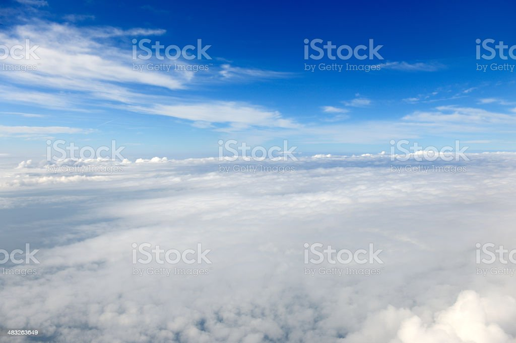 Above the Clouds, Background stock photo