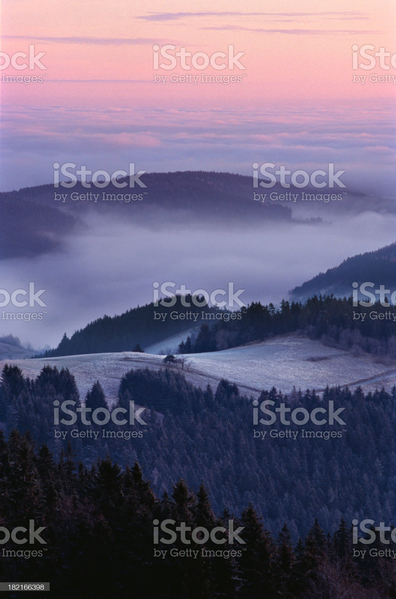 Above the Clouds II royalty-free stock photo