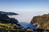Above the clouds, pico de arieiro