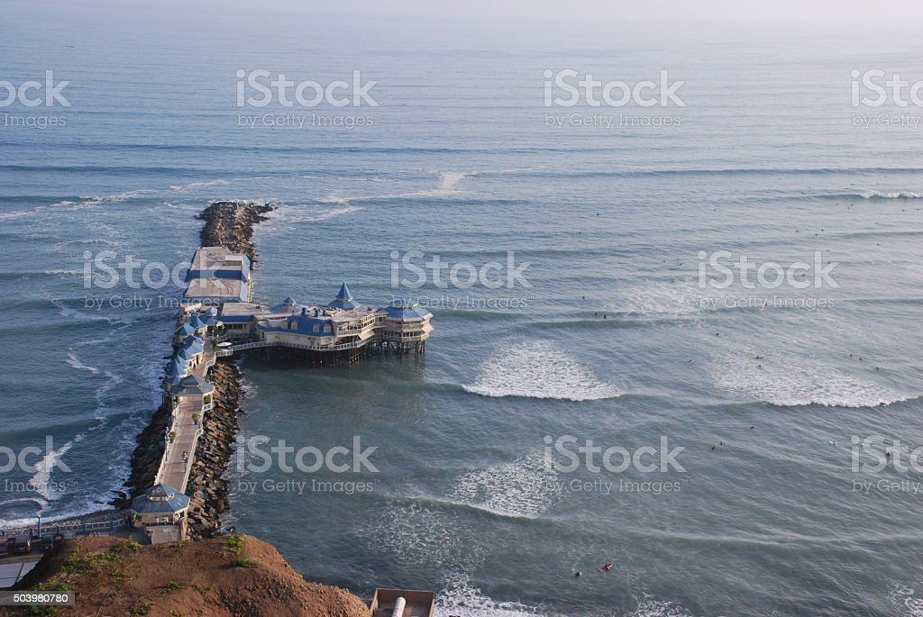 Above the Ocean stock photo