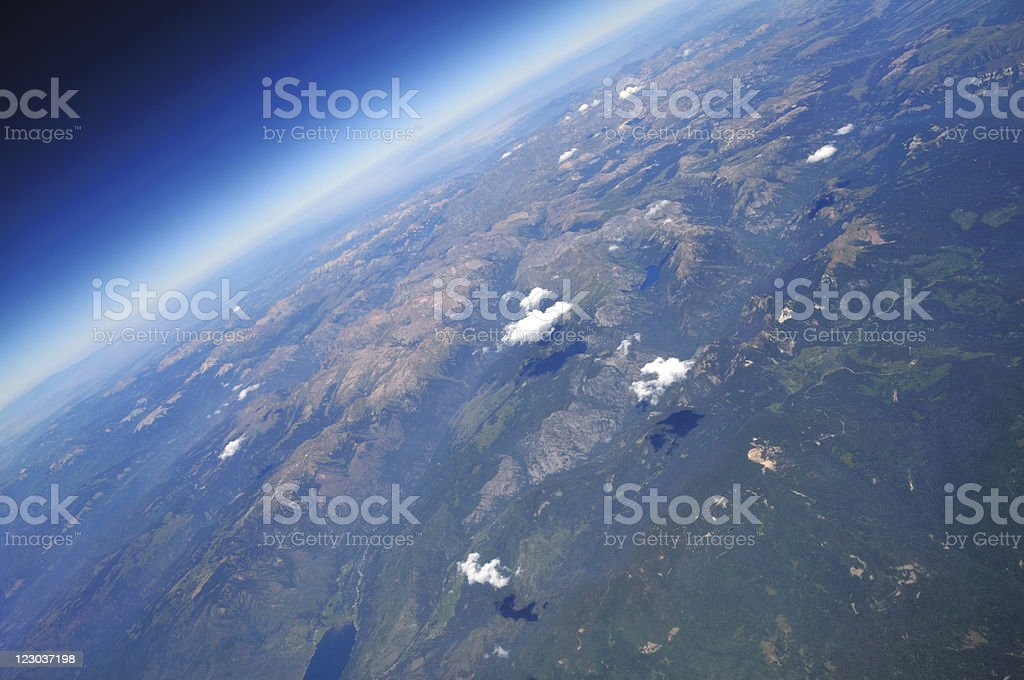 Above the Rockies royalty-free stock photo
