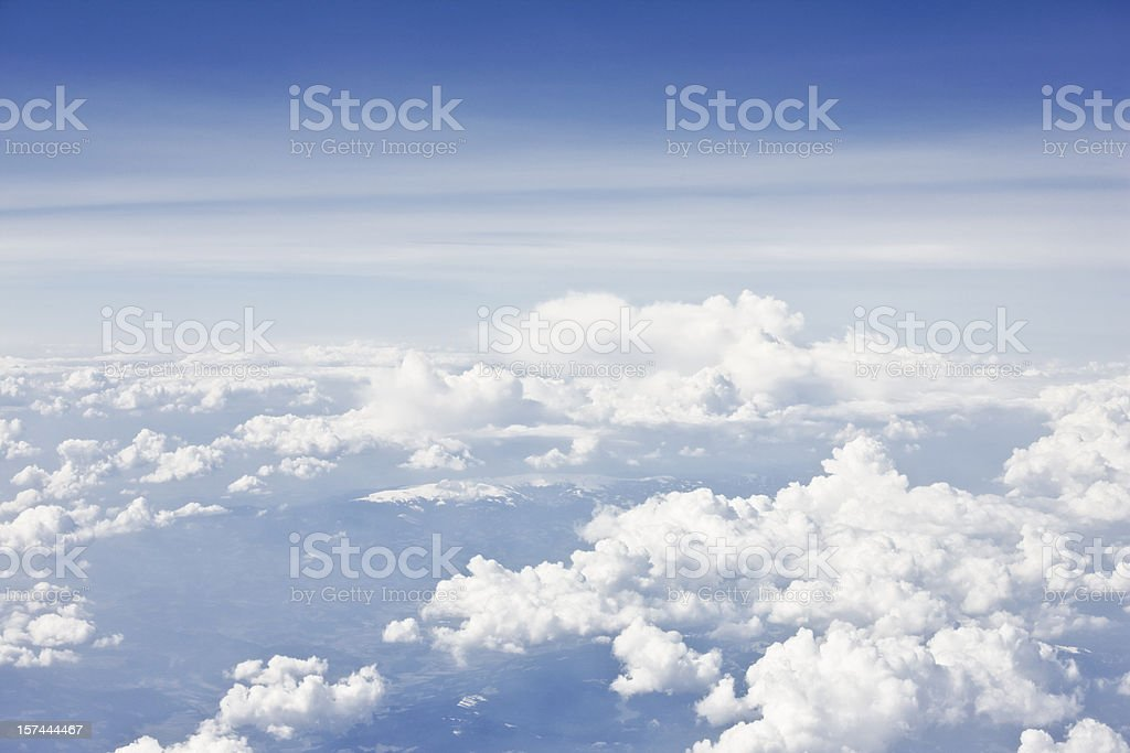 Above the sky stock photo