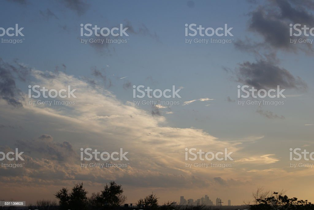 Above the Skyline royalty-free stock photo