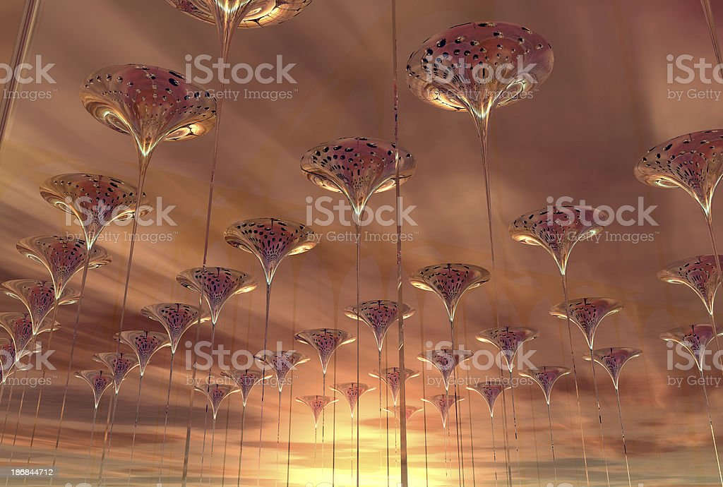 Above trumpets 01 royalty-free stock photo