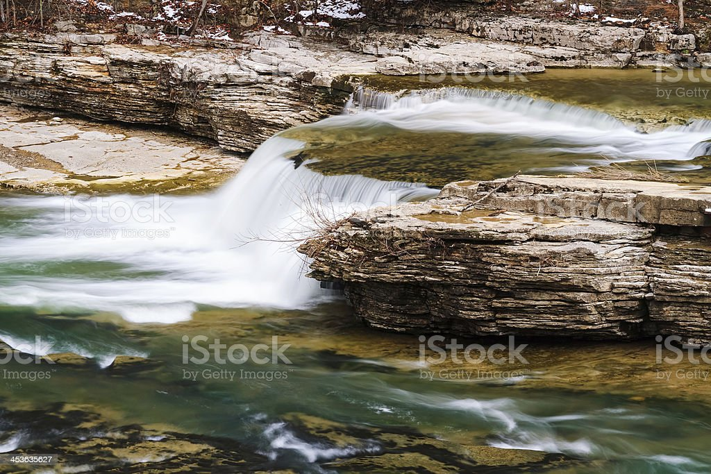 Above Upper Cataract Falls royalty-free stock photo