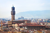 above view of Florence city