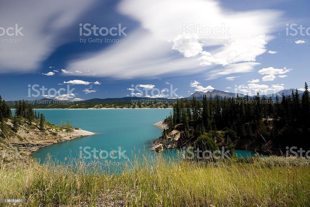 Abraham Lake (Series-six) royalty-free stock photo