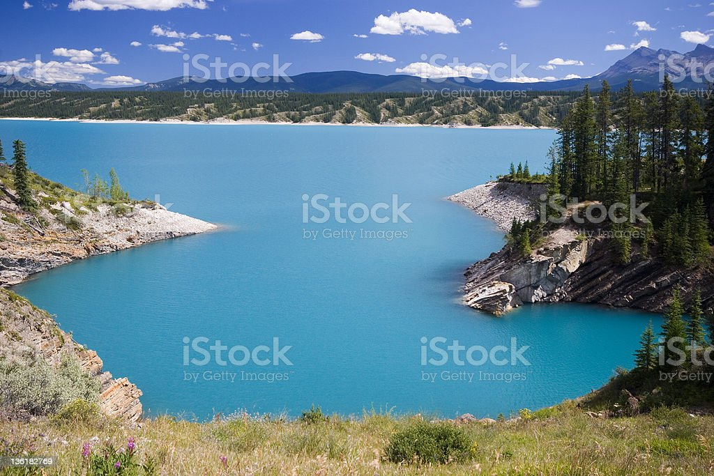 Abraham Lake (Series-five) royalty-free stock photo