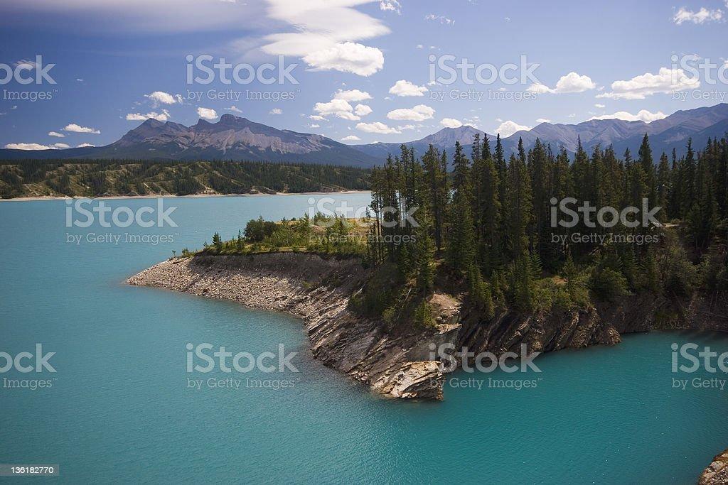 Abraham Lake (Series-four) stock photo