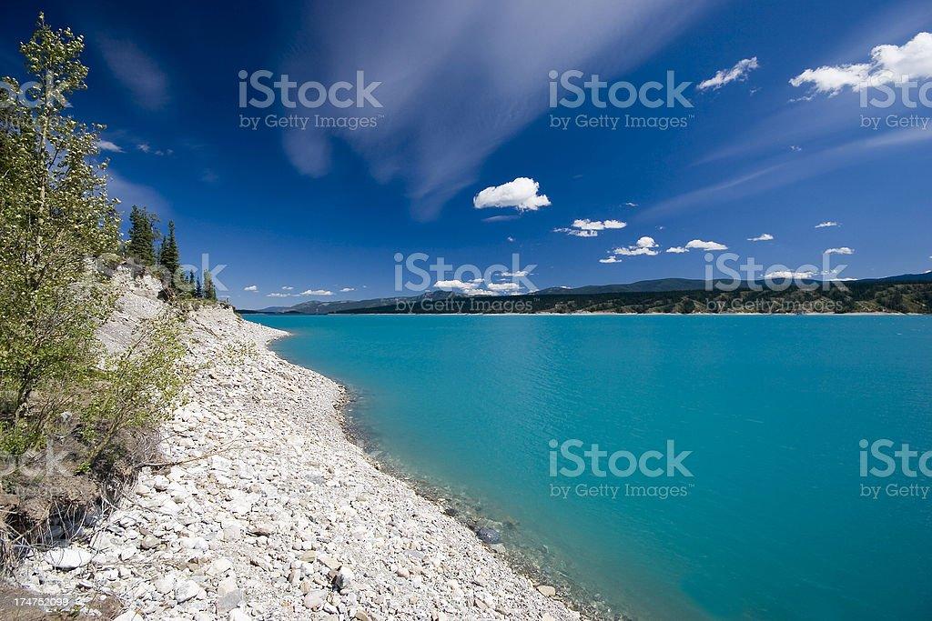 Abraham Lake (Series-two) royalty-free stock photo