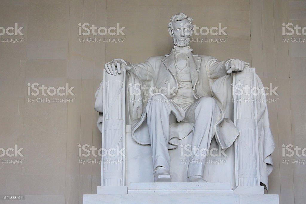 Abraham Lincoln Memorial stock photo